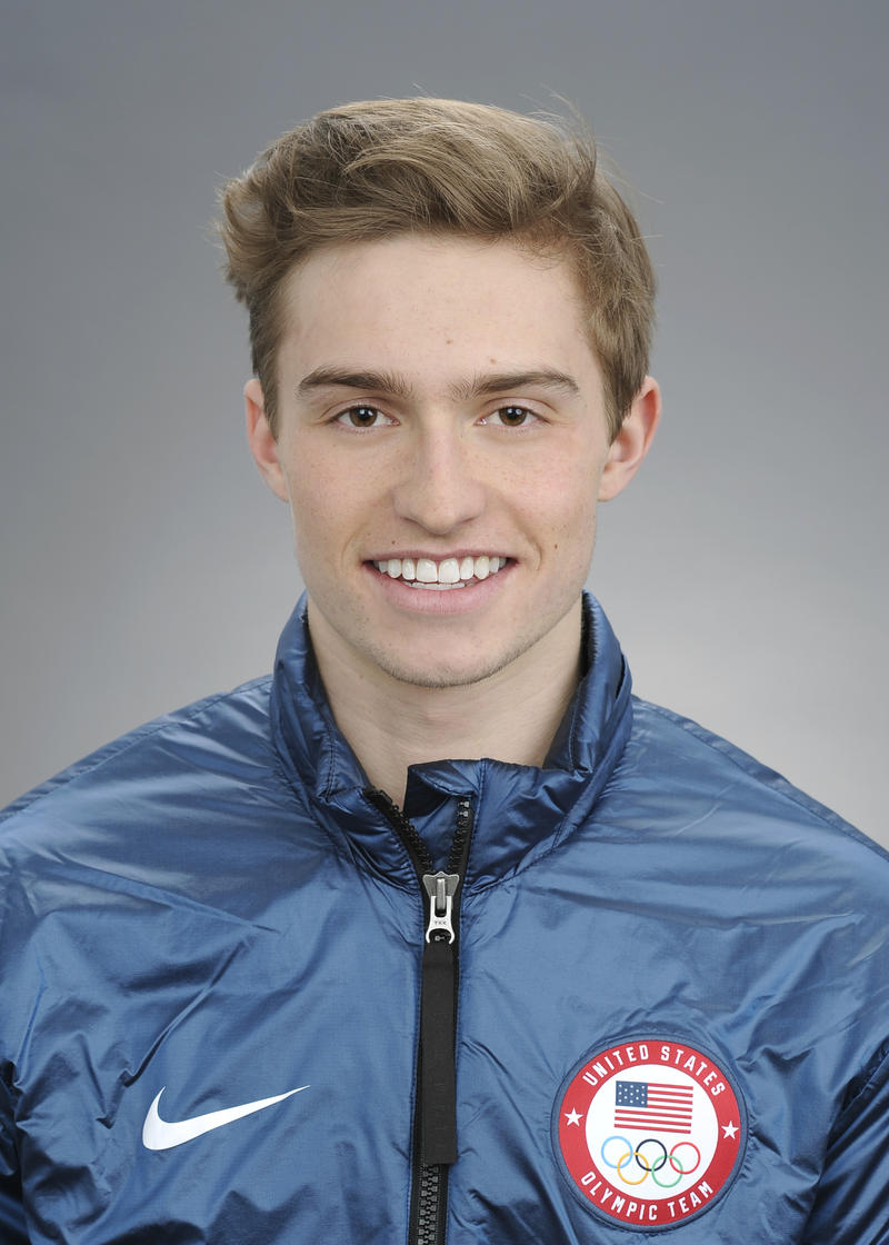 Jake Pates, from Eagle, will compete in snowboarding.