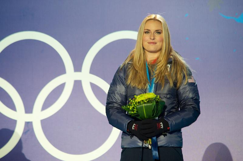 Lindsey Vonn, from Vail, will compete in alpine skiing. She is pictured here at a medla ceremony at the 2010 Winter Olympics in Vancouver.