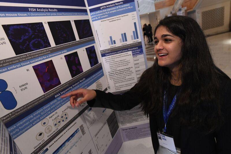 Isani Singh, 18, was awarded third place and $150,000 for her genomics project in the Regeneron Science Talent Search 2018.