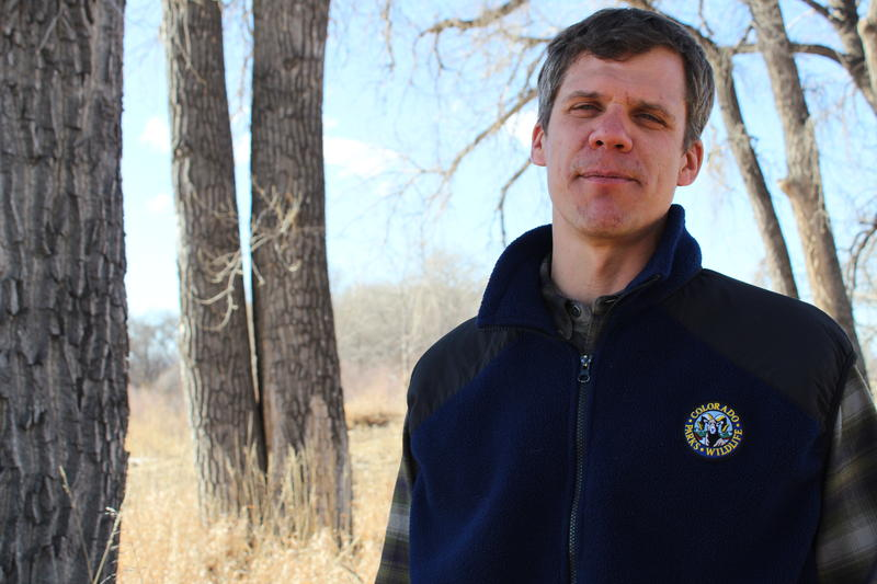 Boyd Wright, a fish biologist with Colorado Parks and Wildlife.