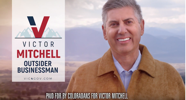 A screenshot from Coloradans for Victor Mitchell