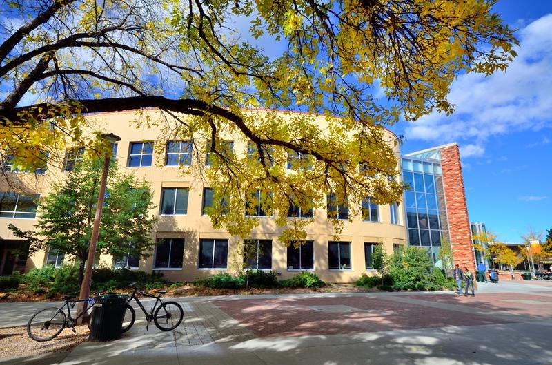 The Morgan Library on Colorado State University's Fort Collins campus.