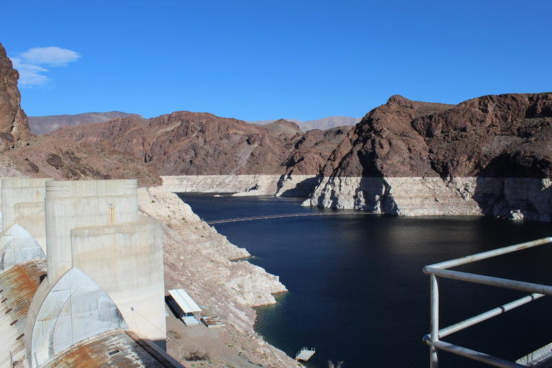 Shortages along the Colorado River are tied to the level of Lake Mead. If the reservoir dips below 1,075 feet the U.S. Secretary of the Interior can declare an official shortage.