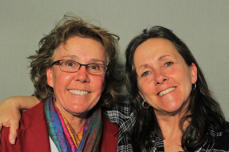 """""""It was frightening, loving you the way I did."""" Lori Daigel (left) and Liz Barnez (right)"""