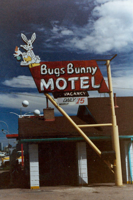 In 1997 the Bugs Bunny Motel changed its name to the Big Bunny Motel after officials from Warner Bros. threatened legal action.