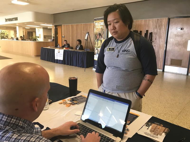 Jenny Lee, a student at the University of Northern Colorado, is one of thousands of college students statewide who must submit additional information to receive federal financial aid.