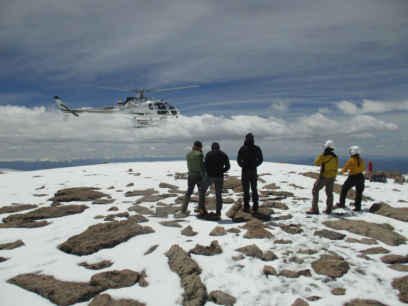 On June 3, 2016, members of a military unit from Fort Carson, Colo., were evacuated from Longs Peak in Rocky Mountain National Park.