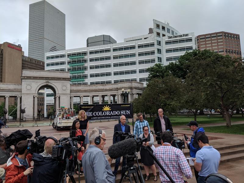 The Colorado Sun announced its creation in June in Denver, Colo.