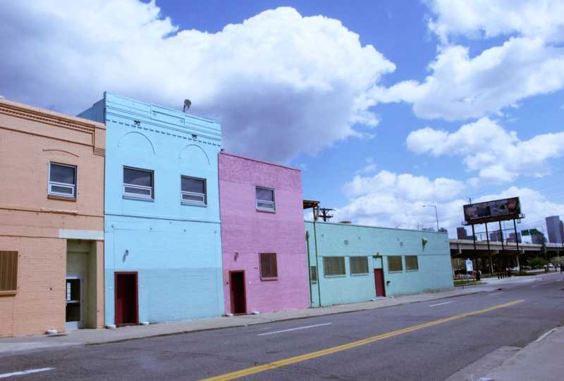 The former location of Ready Foods will be renovated into the Latino Cultural Arts Center.