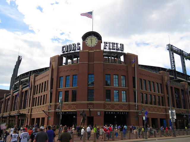 In a tweet that has gone viral, Rockies fan Collin Ingram challenged the organization to bring back live organ music to the stadium.