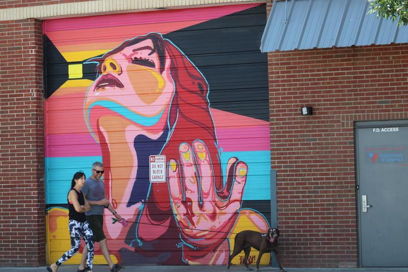 Mural by Michael Ortiz