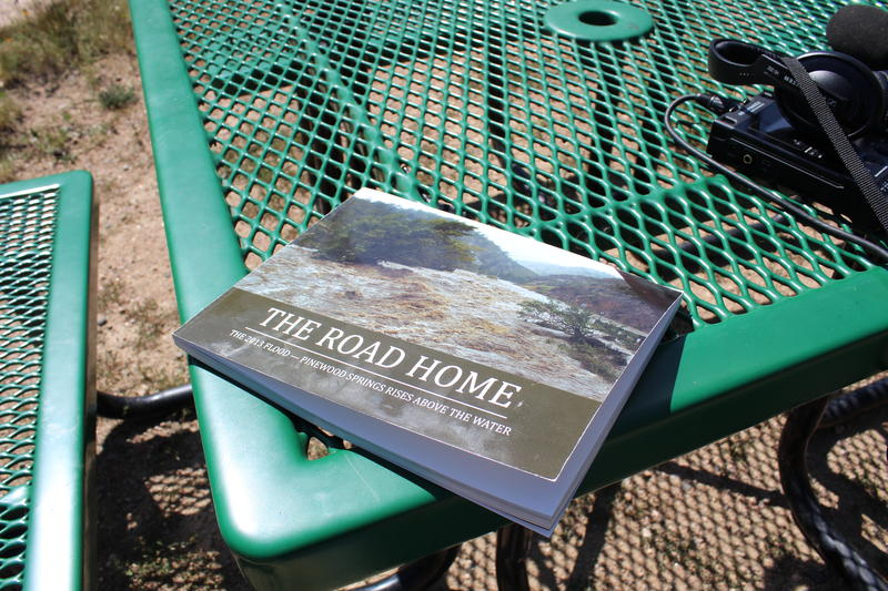 Book of photos and stories that residents put together after the floods