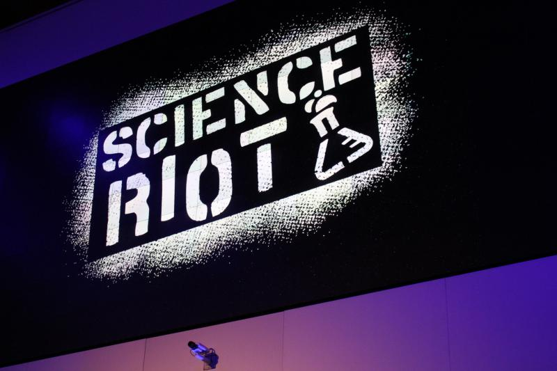 Science Riot aims to help scientists improve their outreach to the general community through comedy.