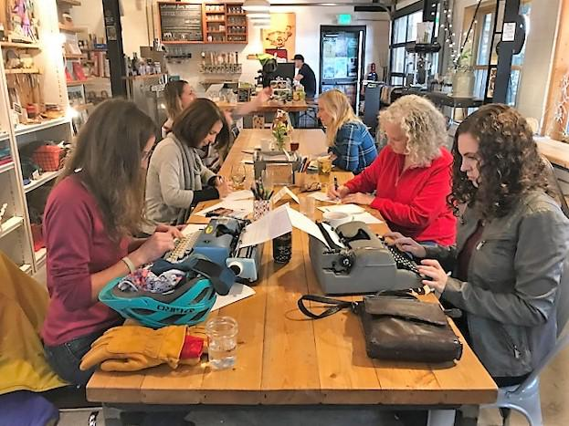 Wolverine Farm hosts a monthly Letter Writers Club to encourage people to slow down and take part in the age-old experience of correspondence.