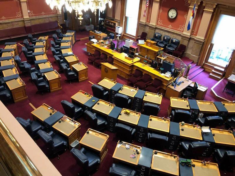 Democrats have gained majority control in Colorado's Senate.