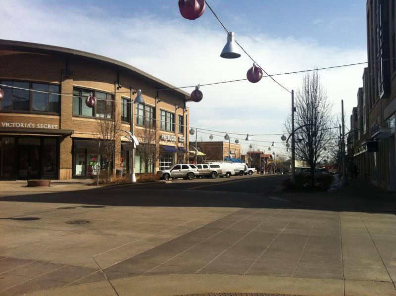 The center of Belmar, a planned Lifestyle development.