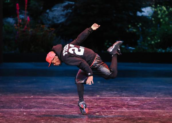 "Charles ""Lil Buck"" Riley in Gangsta Walk on Opening Night at the 2013 Vail International Dance Festival."