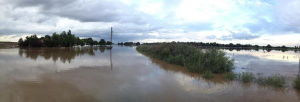 East Greeley near the Platte River, Friday Sept. 13.