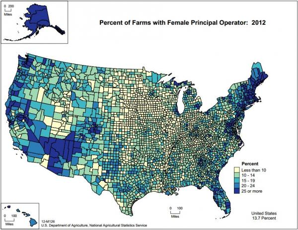 Six Cool Maps From The Farm Census KCUR