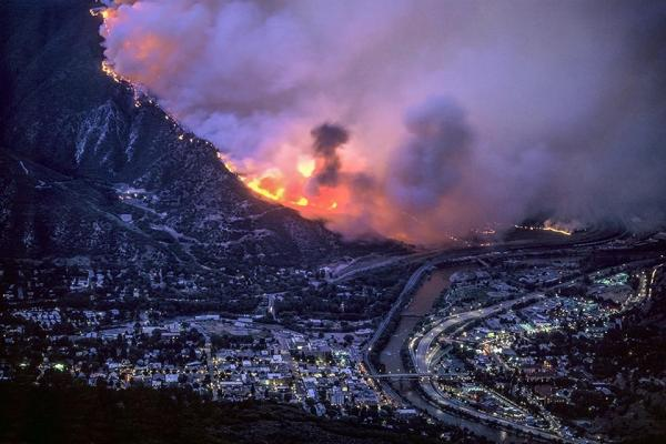 The aptly named Coal Seam Fire in Glenwood Springs burned almost 30 homes in 2002.