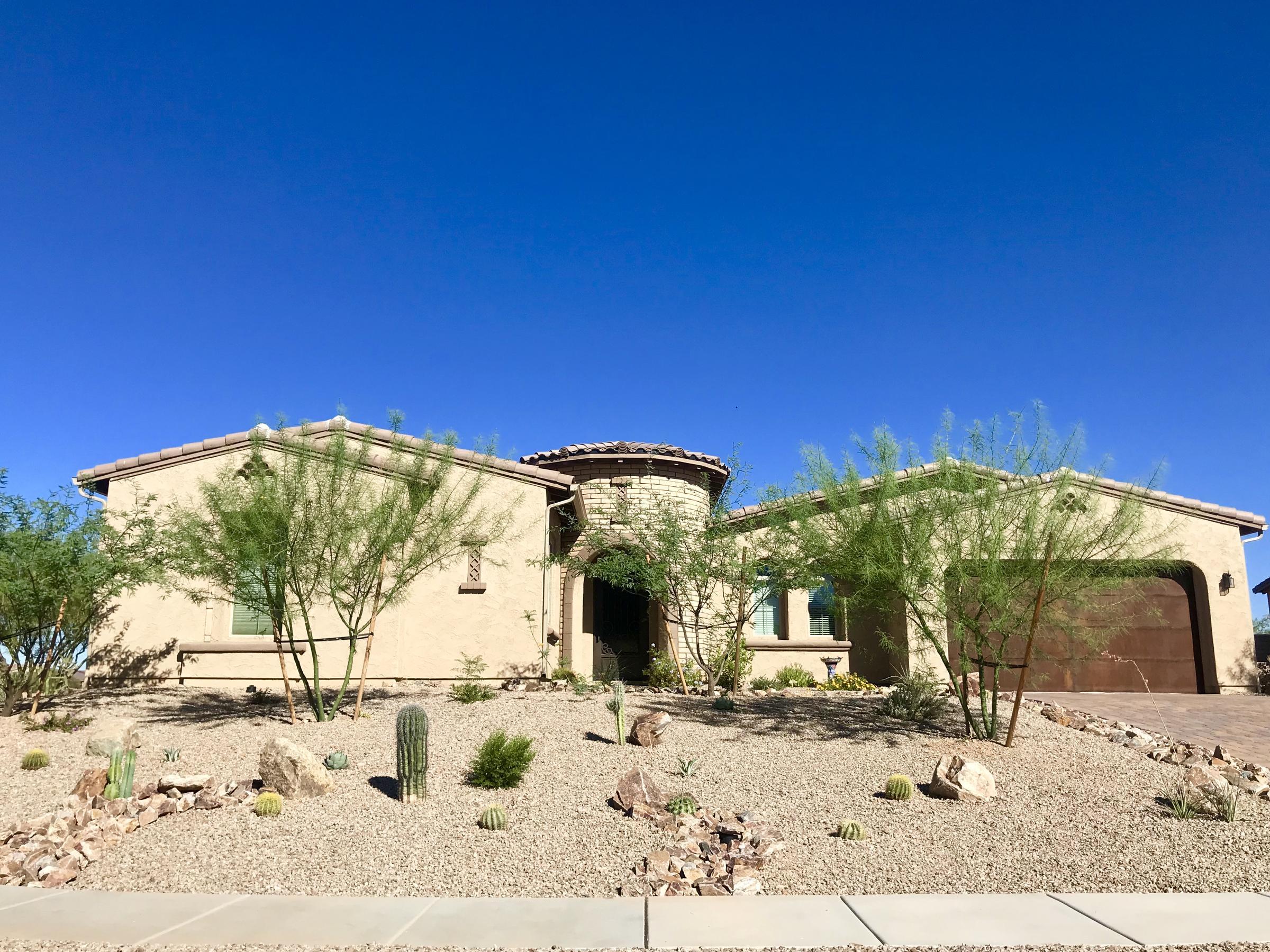 hot garden landscape design for the desert southwest