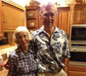 Ted Berthelote and Marcia Hoeman of Placitas.