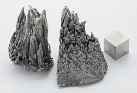 Purified Yttrium, one of two rare earth elements found on the Mescalero Apache reservation.