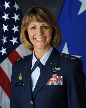 Maj. Gen. Margaret H. Woodward was named to head the Air Force's sexual assault and prevention office.