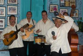TradiSon performing in La Bodeguita de la Medio, Havana, Cuba.