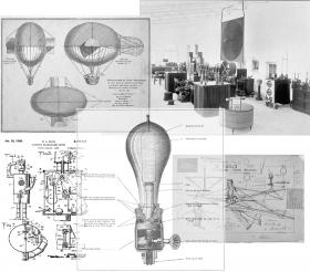 Collage of Laboratory Wonders by Tania Candiani