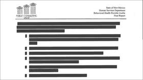 Public Consulting Group's audit was heavily redacted before release
