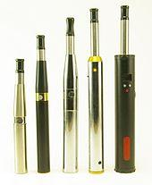 Various e-cigarettes