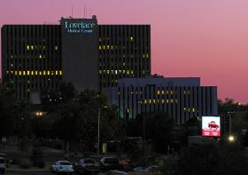 Lovelace Medical Center and other Lovelace hospitals, clinics, and pharmacies will not change hands with the health plan deal.