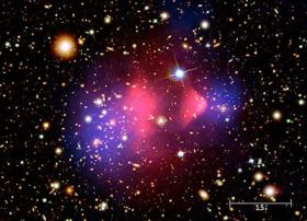 More than meets the eye: Dark Matter makes up more than 25% of the universe, while only 4% is what we can see.