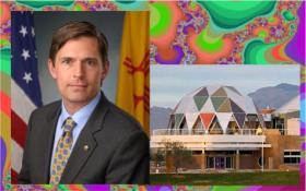 Senator Martin Heinrich, Explora and fractals