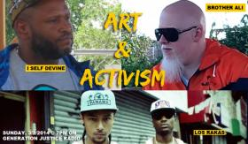 I Self Devine, Brother Ali, and Los Rakas