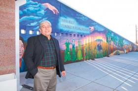 Tony Gallegos at the South Valley Economic Development Center.