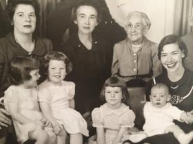 Four generations of mothers