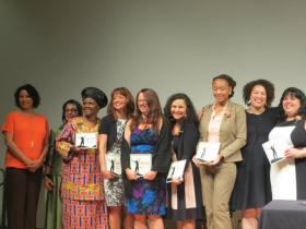 Awardees at the 28th Annual Women on the Move Awards on April 10, 2014