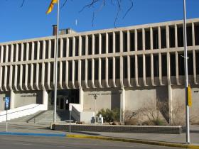 The Albuquerque Police Department shares headquarters with the Bernalillo County Sheriff's Office across from City Hall.