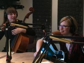 The Doubleclicks live in studio