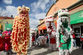 van hanh lion dance