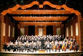 The Santa Fe Symphony in concert at the Lensic Center.