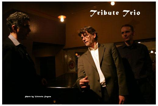 Cal Haines Trio (L to R): John Rangel, Cal Haines, Michael Glynn