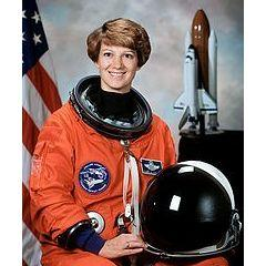 Eileen Collins - the first woman commander of a Space Shuttle