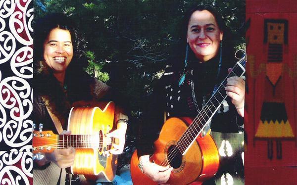 Elena (Maori & Samoan) and Tash (Dine) of  Indigifem