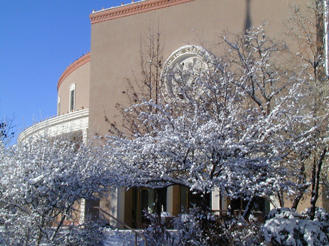 The Roundhouse in Santa Fe