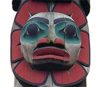 From Saxman Totem Park, Ketchikan, Alaska