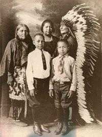 Comanche family, early 1900s