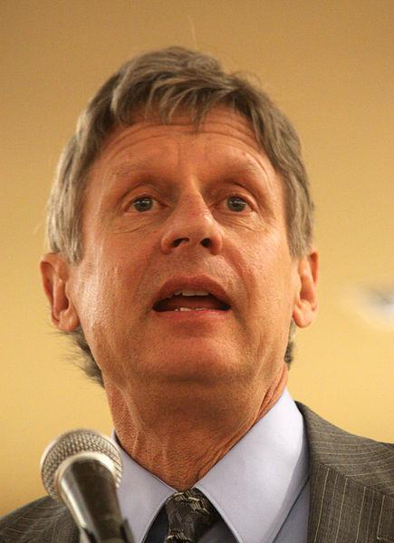 Former NM Gov. (and current GOP presidential hopeful) Gary Johnson